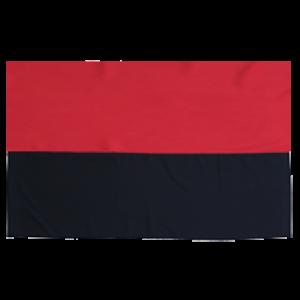 Флаг УПА с габардина - 90*135 см