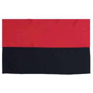 Прапор УПА з габардину - 90*135 см