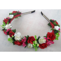 Вінок (Червоно-білі троянди)