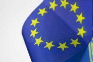Стрічка України/Євросоюзу з нейону 40см * 3,5см