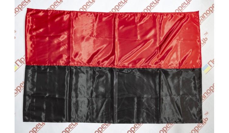 Прапор УПА з атласу - 90*135 см