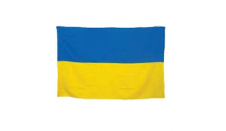 Прапор України з габардину - 70*135 см