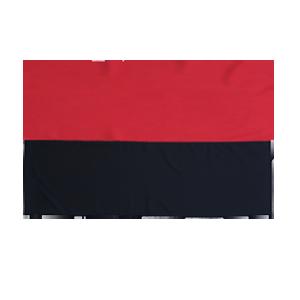 Флаг УПА с габардина -70*105 см