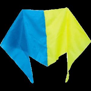 Косынка сине-желтая с нейлона