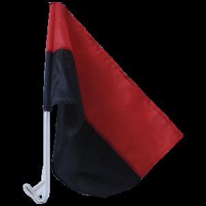 Прапорець УПА на автофлагштоку з нейлону