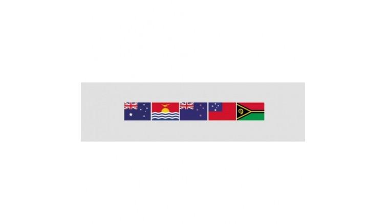 Флаги стран Океании