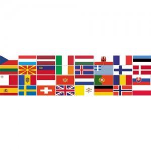Прапори країн Європи