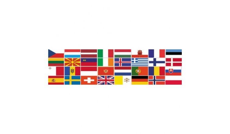 Прапори країн Близького та Середнього Сходу